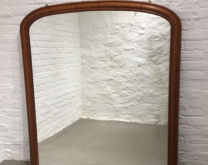 SOLD Victorian overmantle mirror