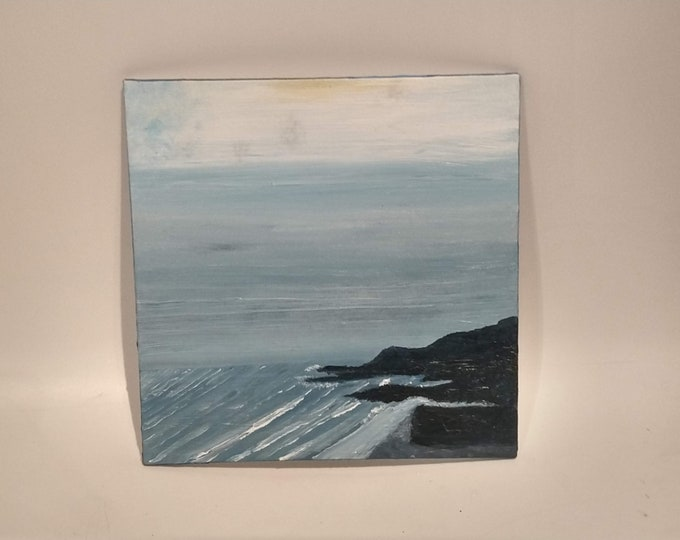 Prussia Cove Oil Painting