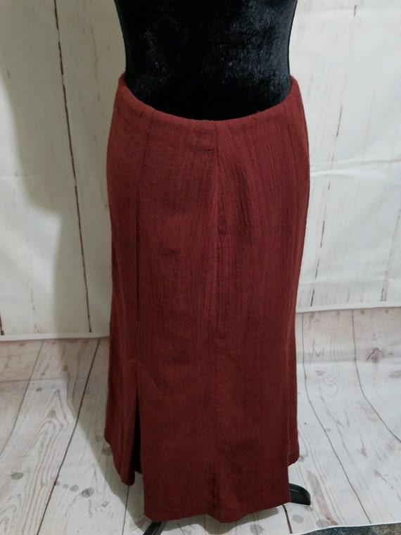 Vintage Norma Kamali Avant Garde 1980s 2 PC Skirt… - image 9