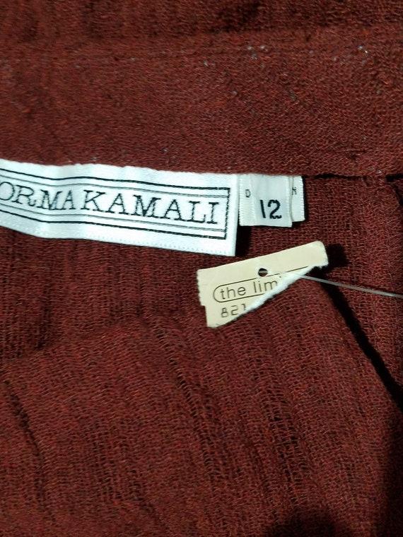 Vintage Norma Kamali Avant Garde 1980s 2 PC Skirt… - image 8