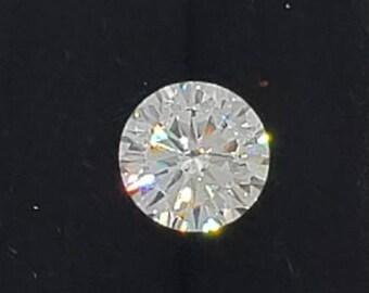 Round Moissanite White E-F • 0.25  to 5 Carat • 100% Genuine •Loose Moissanite diamond • Brilliant Cut Excellent Grade VVS Color DEF •