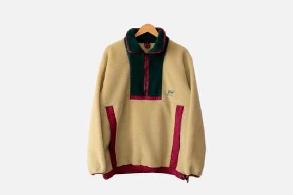 Vintage HellyHansen Fleece Jacket 90s Size M