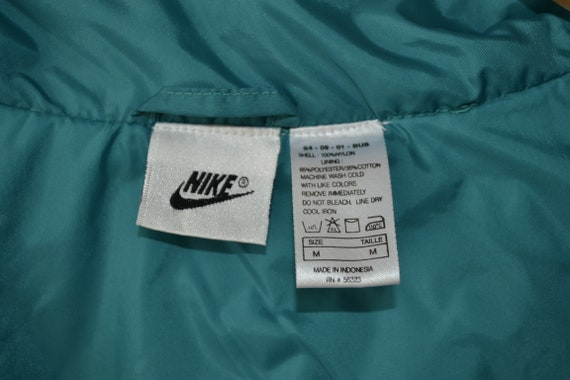 Vintage 90s Nike Tracksuit Set Jacket Pants Windb… - image 4