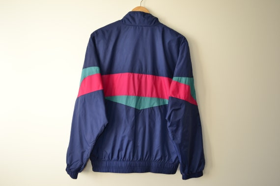 Vintage 90s Nike Tracksuit Set Jacket Pants Windb… - image 3