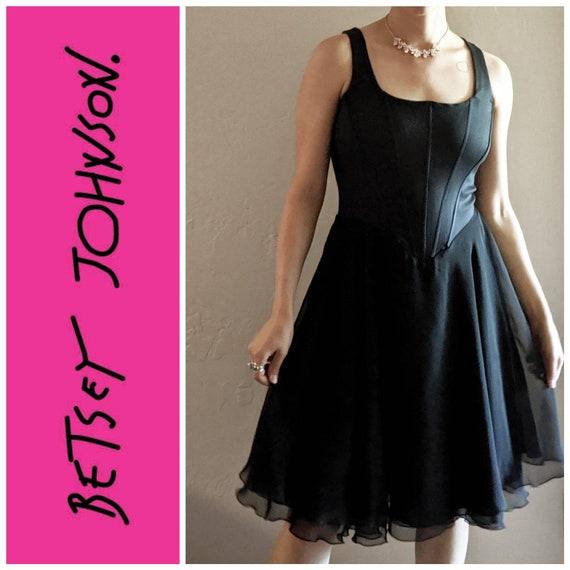 Vintage Betsey Johnson Corset Tutu Dress