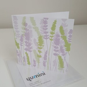 small Beautiful Bells Yumini blank greeting card
