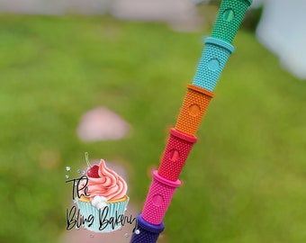 Starbucks Studded Straw Topper | Straw Toppers