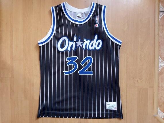 Vintage Champion NBA Orlando Magic Shaquille Jerse