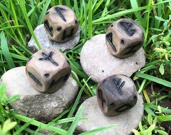 Elder Futhark Dice Rune Set