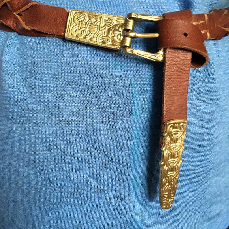 Viking Belt buckle and chape