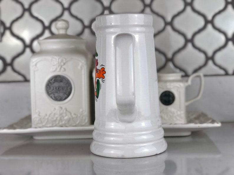 Vintage Six Flags Magic Mountain Troll California rare Souvenir Ceramic Cup Mug