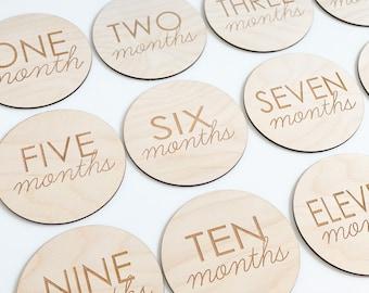 Baby Monthly Milestone Cards - Baby Milestone Cards - Baby Shower Gift - Baby Milestones