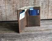 Personalized Bifold Wallet, Wallet for him, Birthday gift, leather card wallet, Wallet for Boyfriend