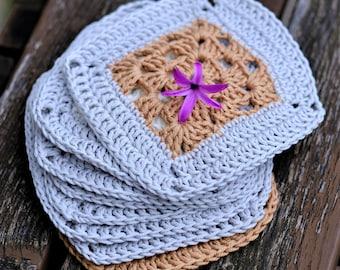 Party Coasters Set, Crochet Coasters, 100% Cotton Crochet, Drink Coasters, Mug Rugs, Season Decorations, Best Selling Items