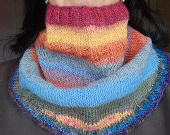 Knitting Pattern for Shawls Cowls Scarves Neck Warmers - PDF Instant Download - Easy Pattern for Spring Fall Winter Accessories