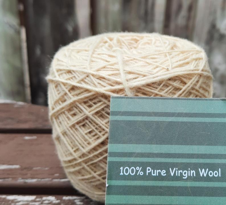Merino Yarn for knitting and crocheting shawls socks image 1