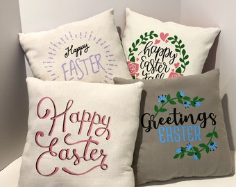Easter Pillows Etsy