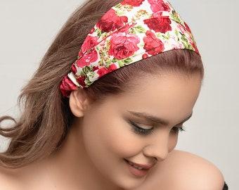 Multi style stretch headband bandana black headband head wrap headbands for women tie dye headband sports headband women's headband gifts