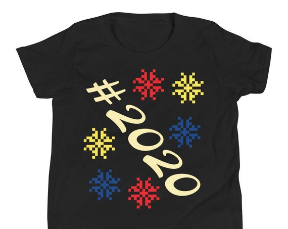 2020 New Years Youth Short Sleeve T-Shirt