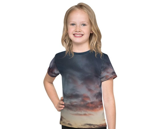 Sunset over the Coast Kids T-Shirt