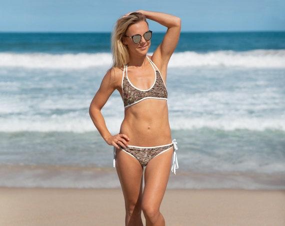 Gravel Design Adult Bikini