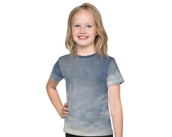 Cloudy Sky Kids T-Shirt