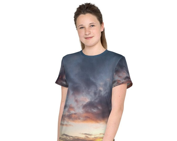 Sunset over the Coast Youth T-Shirt