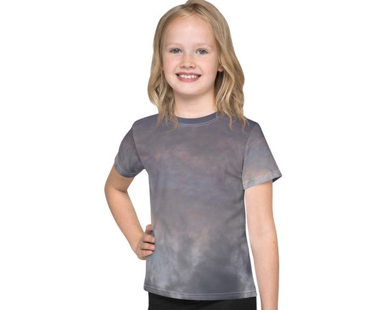 Evening sky with storm clouds Kids T-Shirt