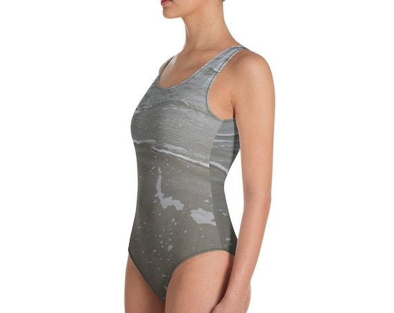 Gentle Waves Adult One-Piece Swimsuit