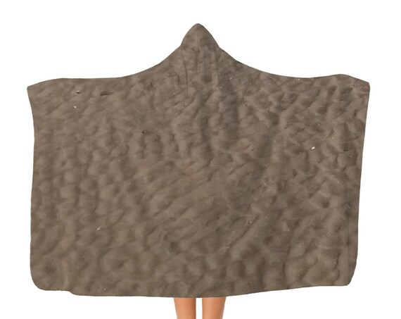 Sandy Beach Classic Adult Hooded Blanket