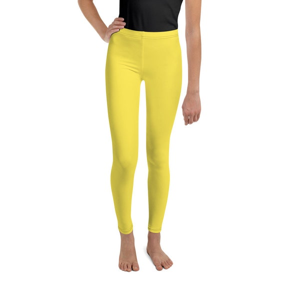 Yellow Youth Leggings