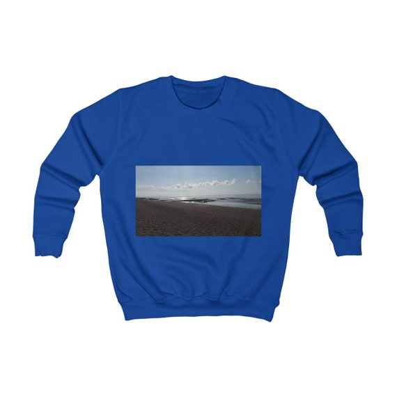 Beach At Sunset Kids Sweatshirt