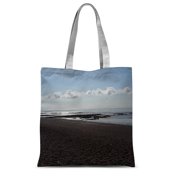Beach Scene Classic Sublimation Tote Bag