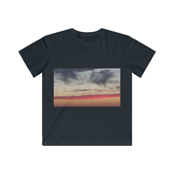 Red Sky at Night Kids Fine Jersey Tee