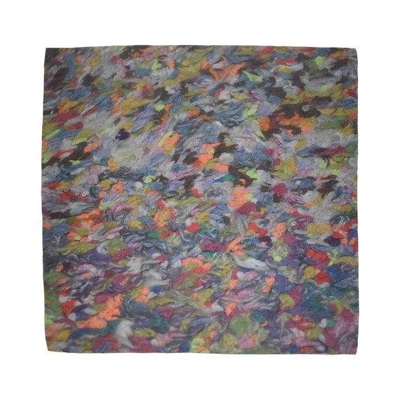 01_Multi-colour wool floor rug Sublimation Bandana
