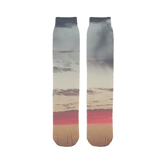 Red Sky at Night Sublimation Tube Sock