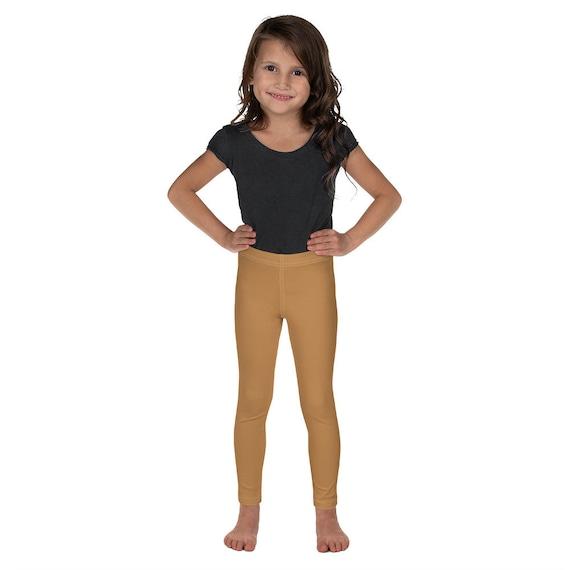 Tan Colour Kid's Leggings