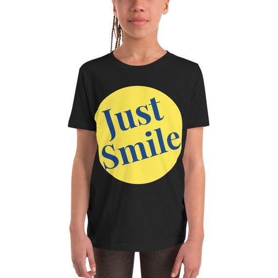 Just Smile Youth Short Sleeve T-Shirt