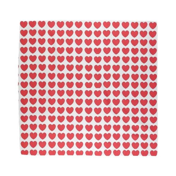 Hearts Sublimation Bandana