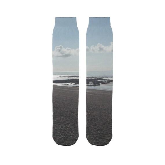 Beach Scene Sublimation Tube Sock