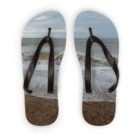 Raging Waves Kids Flip Flops
