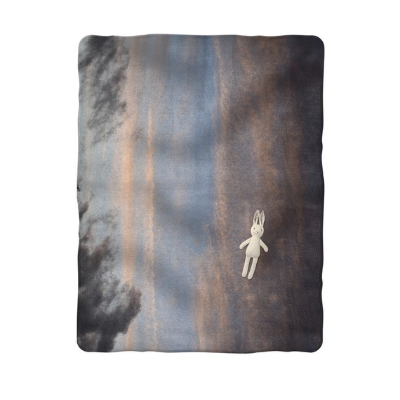 Stormy Night Sky Sublimation Baby Blanket