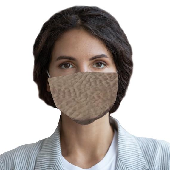 Sandy Beach Sublimation Face Mask