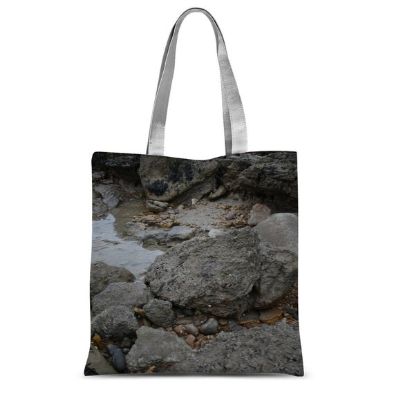 Rocks and Rock Pools Classic Sublimation Tote Bag