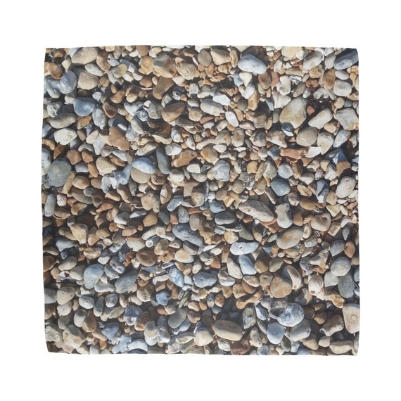 Pebbles on Beach Sublimation Bandana