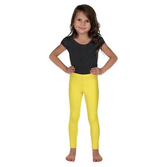 Yellow Kid's Leggings