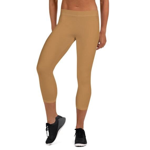 Nude (colour) Capri Leggings