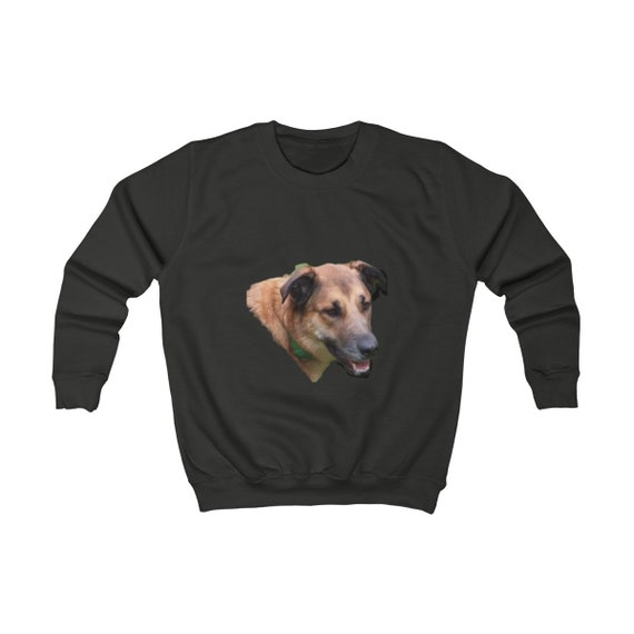 Belgian Malinois Dogs Head Kids Sweatshirt