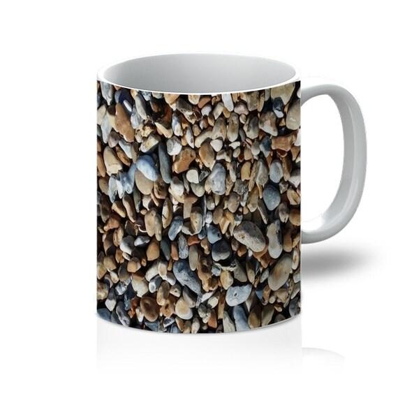 Pebbles on Beach 11oz Mug