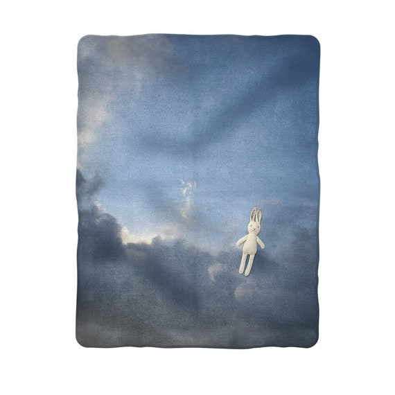 Stormy clouds Sublimation Baby Blanket